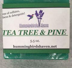 Tea Tree Pine Soap Bar