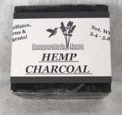Hemp Charcoal Soap Bar