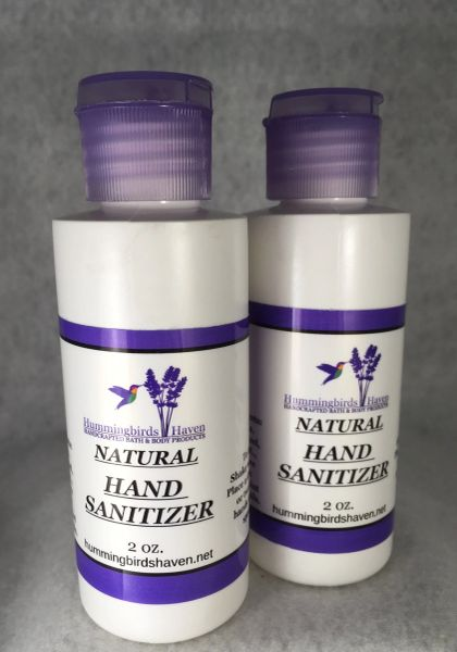 Natural Hand Sanitizers