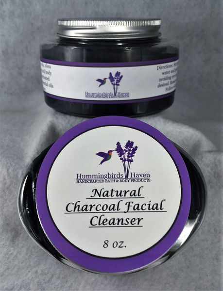 Natural Charcoal Facial Cleanser