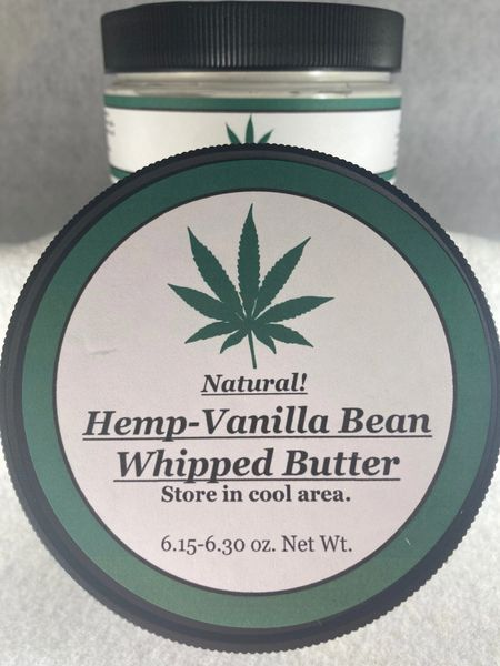 Hemp Vanilla Bean Whipped Butter