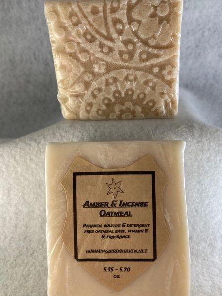 Amber & Incense Oatmeal Bar