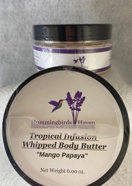 Tropical Infusion Whipped Body Butter - Mango Papaya