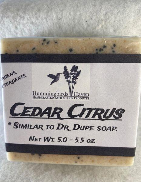 Dr. Dupe Cedar Citrus Soap Bar