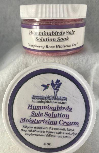 Pedicure Products (Raspberry Rose Hibiscus Tea)