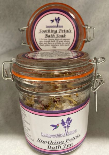 Soothing Petals Bath Tea