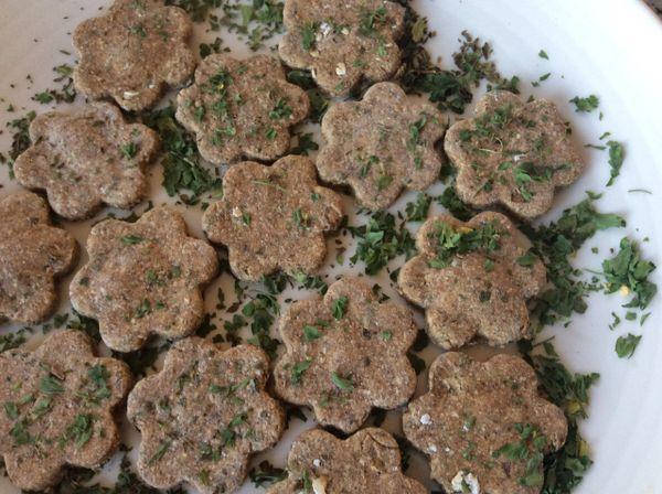Parsley & Mint Cookies