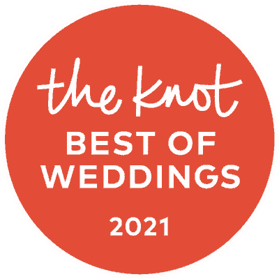 The Knot best of weddings 2021 award