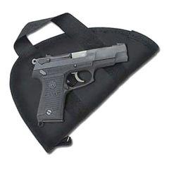 Handgun Case - Soft Sided - Sized for large frame handguns