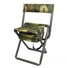 Folding Stool with Pouch