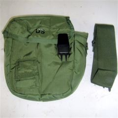 Canteen Cover, Green, 2 Quart with Shoulder Strap - USGI New