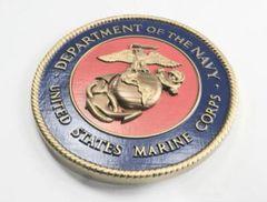 "USMC Wall Plaque, 15"" Diameter - USGI New"