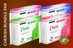 Cherish Premium Sanitary Napkin Bundle Package