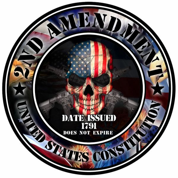 2nd Admendment Decal