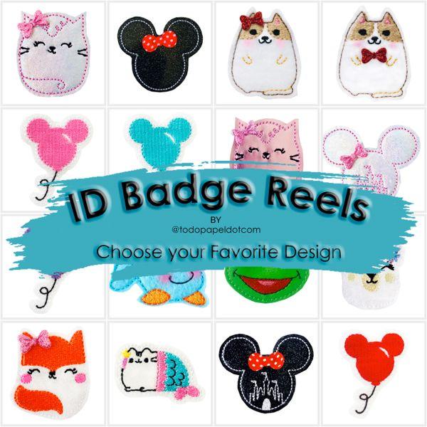 Unique Badge Intestines Badge Reel Feltie Badge Interchangeable Badge Reel Cute Badge