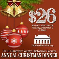 2019 HCHS Annual Christmas Dinner Admission