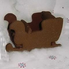 Santa Sleigh 3D Cookie Cutter Set
