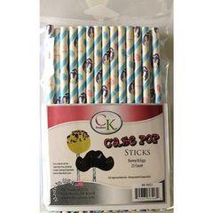 Bunny & Eggs Cake Pop Sticks 6 inch 25 piece