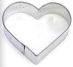 Heart Cookie Cutter 3 inch