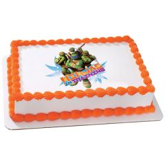Teenage Mutant Ninja Turtles Edible Picture Decoration