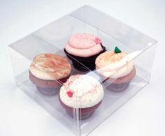 7.5x7x4 inch Clear Cake Cupcake Candy Box