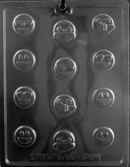 Emoji Bite Size Chocolate Craft Mold