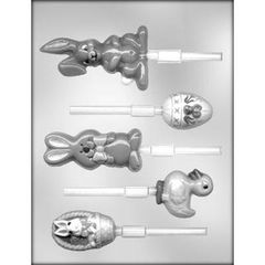 Easter Assorted Lollipop Chocolate Craft Candy Mold