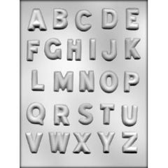 Alphabet Chocolate Craft Candy Mold