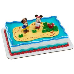 Mickey & Minnie Mouse Pirate Adventure Cake Kit