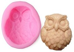 Owl Silicone Craft Mold Large