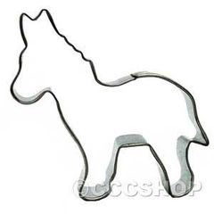 Donkey Cookie Cutter 3 inch