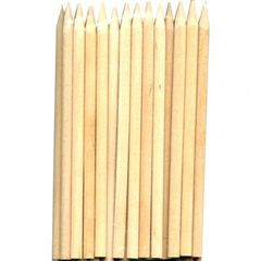Candy Apple Sticks Wooden 5 1/2 x 1/4 inch 25 piece