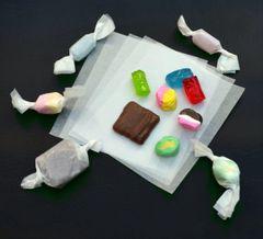 Confectionery Wax Twisting Paper 200 Piece 4.25 x 5.5 inch