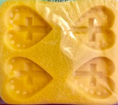 Heart with Cross Mint Candy Mold