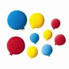 Balloon Sugars Primary Colored Decorations 12 Piece Multi Size