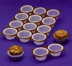Cupcake Muffin Tray Pan Disposable