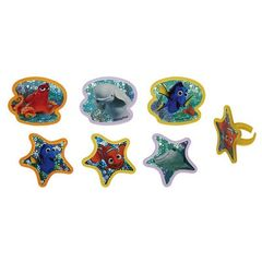 Finding Dory Adventure is Brewing Cupcake Rings 12 Piece