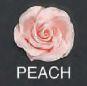 Peach Rose 3D 1.5 inch 6 Piece Edible Gumpaste Flower