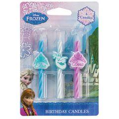 Frozen Candles 6 Piece