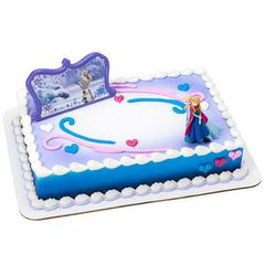 Frozen Follow Your Heart DecoSet Cake Kit