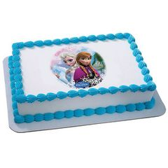 Frozen Sisters Edible Picture Decoration