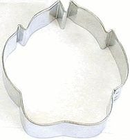 Dog Paw Print 3 inch Cookie Cutter