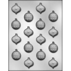 Christmas Ornament 1 inch Chocolate Craft Candy Mold