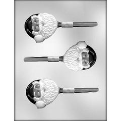 Santa Face Large Lollipop Chocolate Craft Candy Mold