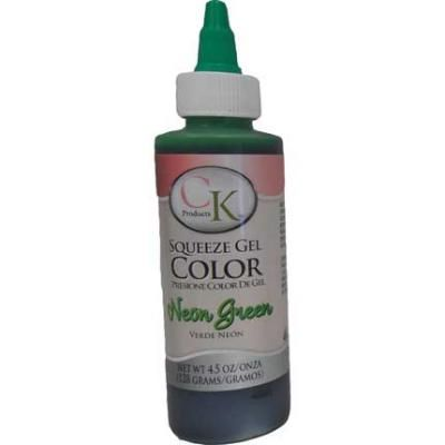 Neon Green Gel Food Coloring 4.5 oz