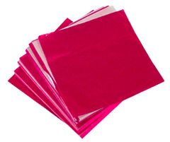 Red 5x5 Candy Foil Squares 125 piece