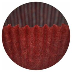 Red Size 5, 3/4 wall x 1 1/4 inch base Paper Candy Cups 1 lb.