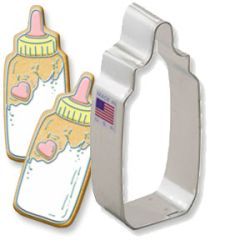 Baby Bottle 3-7/8 inch Cookie Cutter