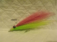 Clouser Minnow Multi-Colored (Teaser)