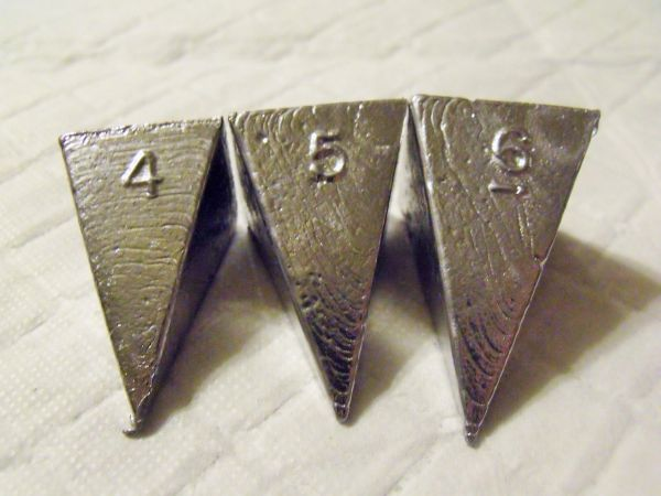 Pyramid Sinker 1 oz - 6 oz